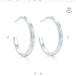 Tiffany hoop earrings